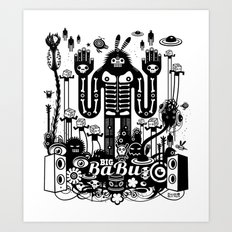 Big Babu Art Print