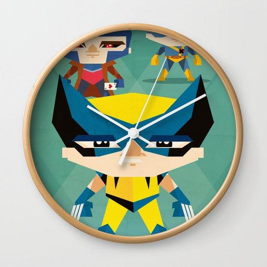 X Men fan art Wall Clock