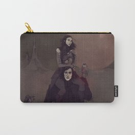 At Dawn We Ride Carry-All Pouch