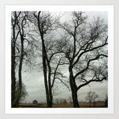 Rainy Day Art Print
