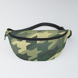Camouflage houndstooth Fanny Pack