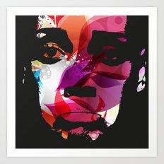 Sad Woman Art Print