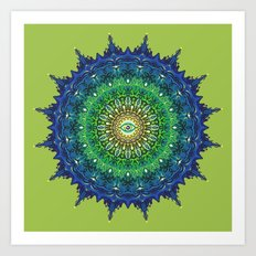 Eye of the Earth Art Print