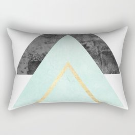 Texture three triangles Rectangular Pillow