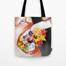 Gardens Flower in her Blooming Breath Tote Bag