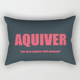 AQUIVER Rectangular Pillow