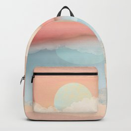 Mint Moon Beach Backpack