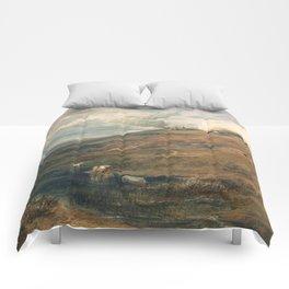 "J.M.W. Turner ""Dartmoor- The Source of the Tamar and the Torridge"" Comforters"