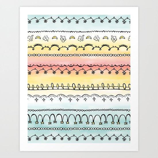 Frills & Fancies Art Print