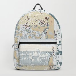 New York Pattern Lines 104 Backpack