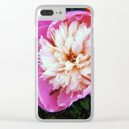 Bowl of Beauty Peony Clear iPhone Case