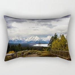 The Tetons Rectangular Pillow