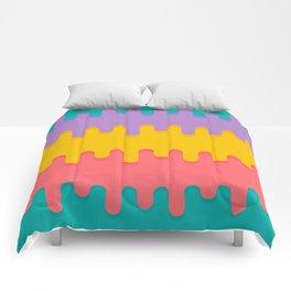 Vibrant Dribbles Comforters