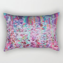 Nature's Garden Rectangular Pillow