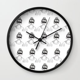 Blind Thoughts Wall Clock