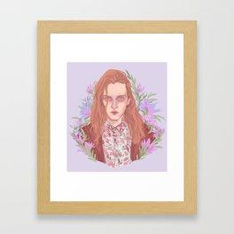 Caleb Landry Lones Framed Art Print