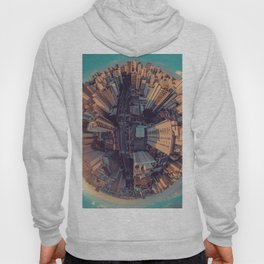 Fish Eye World View (Color) Hoody