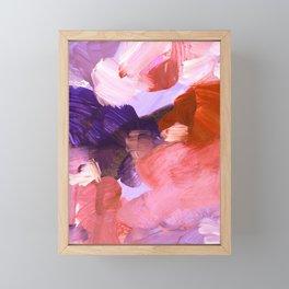 abstract painting V Framed Mini Art Print