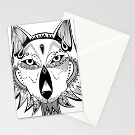 Wolfie Stationery Cards