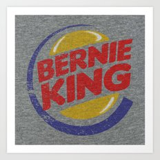 Bernie King Art Print