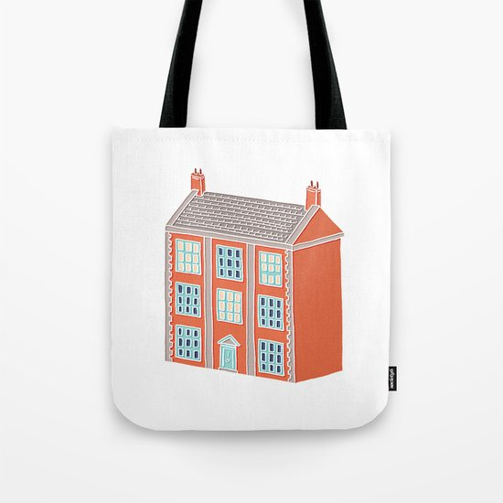Little Big House Tote Bag