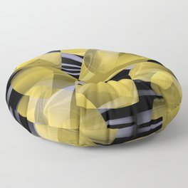 3D abstraction -01- Floor Pillow