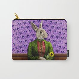 Miss Bunny Lapin in Repose Carry-All Pouch