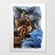 Pirata Canvas Print