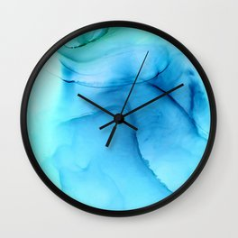 The lady in the hat Wall Clock