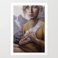 The Death of Crystallina Art Print