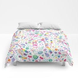 Candy Garden Comforters