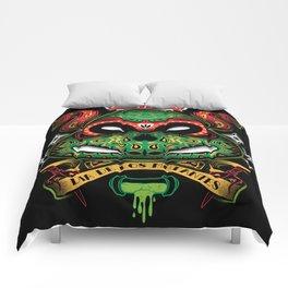Dia De Los Mutantes Raphael Comforters