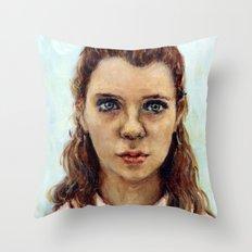 Suzy - Moonrise Kingdom - Kara Hayward Throw Pillow