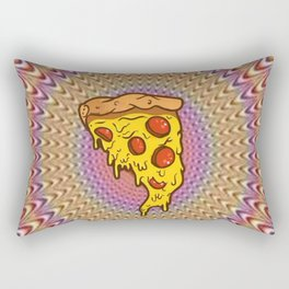 Pizza is your friend Rectangular Pillow