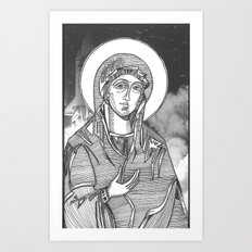 Madonna of the Launches Art Print