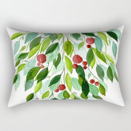 Tic Tac Mistle-Toe Rectangular Pillow