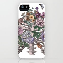 flowering ribs iPhone Case