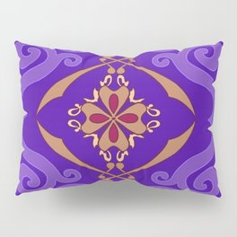 Aladdin Purple Magic Carpet Pillow Sham