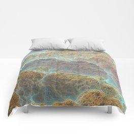 Coral Mountains Comforters
