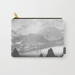 Black and White - Winter. Melody... Carry-All Pouch