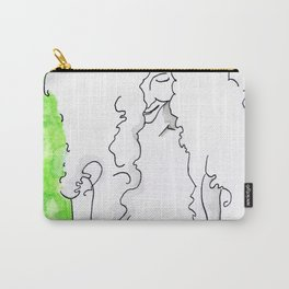 Girl in green Carry-All Pouch