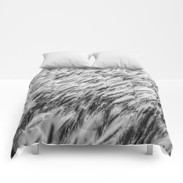 Utah tall grass Comforters