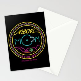 Neon Moon Studios Logo Rectangle Stationery Cards