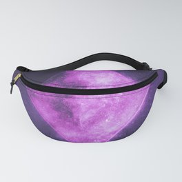 Diamond symbol. Playing card. Abstract night sky background Fanny Pack