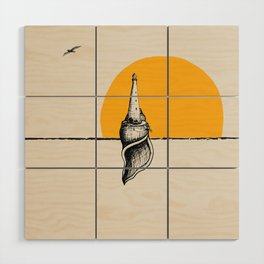 Lighthouse Minimalism Wood Wall Art