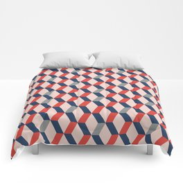 Geometric No.1 Comforters