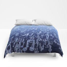 Aquatic Chords Comforters
