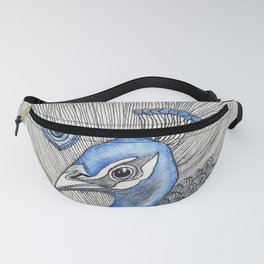 Peacock Pattern Fanny Pack