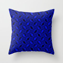 Blue shells Throw Pillow