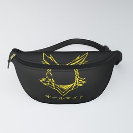All might Face Fanny Pack